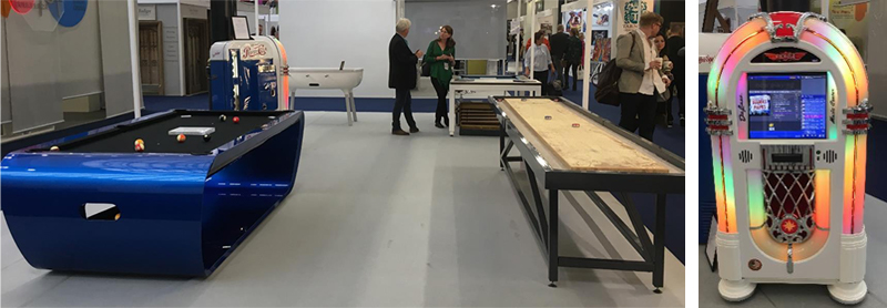 The Games Room Company at 100% Design and Design Junction Furniture Show 2018
